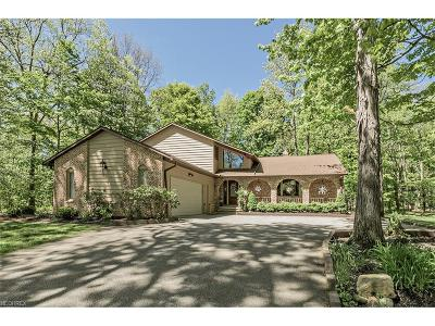 Chesterland Single Family Home For Sale: 8654 Camelot Dr