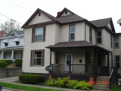 Guernsey County Multi Family Home For Sale: 214-214 1/2 North 9th St #2