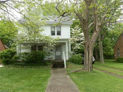 Alliance OH Single Family Home Sold: $74,000