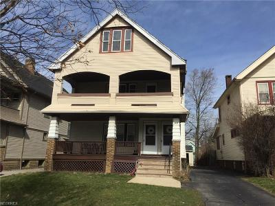 Cleveland Heights Multi Family Home For Sale: 3435-37 Beechwood Ave