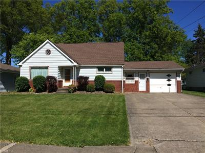 Girard Single Family Home For Sale: 977 Dravis St