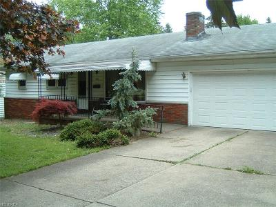 Youngstown Single Family Home For Sale: 370 South Bon Air Ave