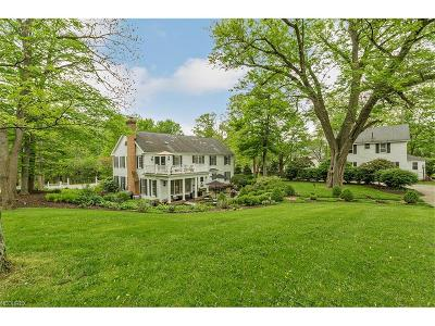 Gates Mills Single Family Home For Sale: 649 Chagrin River Rd