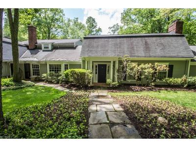 Gates Mills Single Family Home For Sale: 1830 County Line Rd