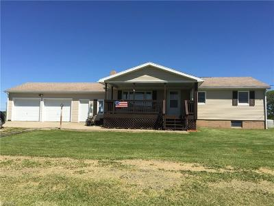 Guernsey County Single Family Home For Sale: 53320 Garvin School Road