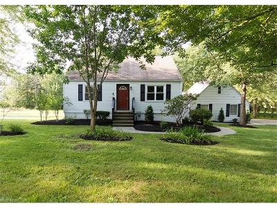Geauga County Single Family Home For Sale: 1156 Bell Rd