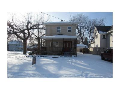 Ashtabula Single Family Home For Sale: 427 Ohio Ave