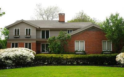Shaker Heights Single Family Home For Sale: 18616 Parkland Dr