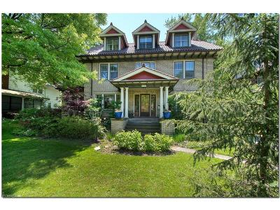 Cleveland Heights Single Family Home For Sale: 2854 Scarborough Rd
