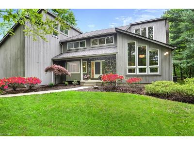 Chagrin Falls Single Family Home For Sale: 16515 Heatherwood Ln