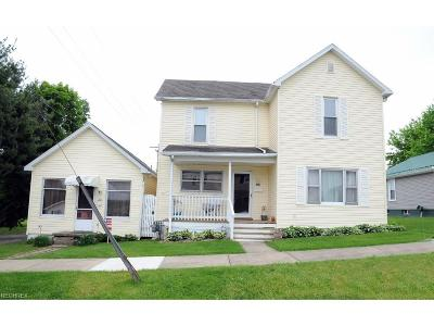 Guernsey County Single Family Home For Sale: 205 Race Ave