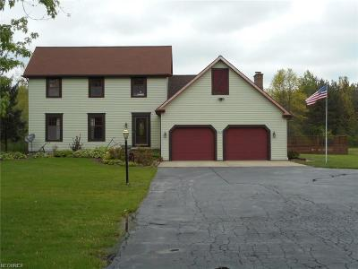 Girard Single Family Home For Sale: 1968 Tibbetts Wick Rd