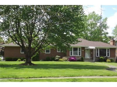 Alliance OH Single Family Home Sold: $102,500