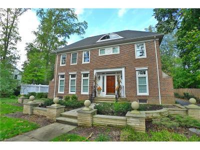 Shaker Heights Single Family Home For Sale: 18715 Shaker Blvd