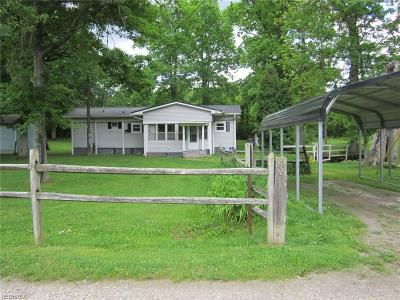 Guernsey County Single Family Home For Sale: 57786 & 57752 Salem Rd