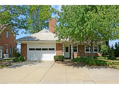 Rocky River Single Family Home For Sale: 19800 Frazier Dr