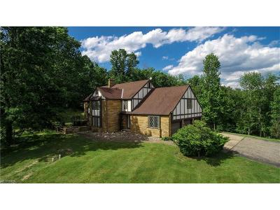 Guernsey County Single Family Home For Sale: 64068 County Home Rd