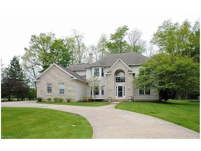 Solon Single Family Home For Sale: 6228 Chagrin Highlands