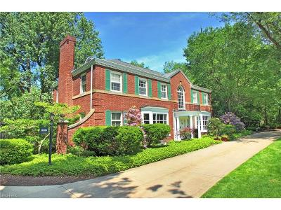Shaker Heights Single Family Home For Sale: 15925 Shaker Blvd