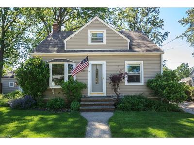 Wickliffe Single Family Home For Sale: 1886 Harding Dr
