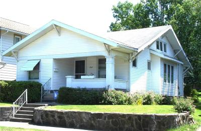 Guernsey County Single Family Home For Sale: 812 North 12 St