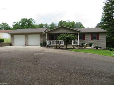 Zanesville Single Family Home For Sale: 2985 South Pleasant Grove Rd