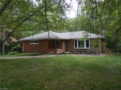 Kirtland Single Family Home For Sale: 8252 Kirtland Chardon Rd