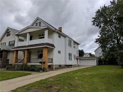 Garfield Heights Multi Family Home For Sale: 10308 Homeworth Ave