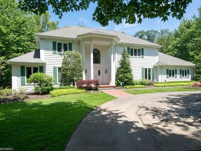 Gates Mills Single Family Home For Sale: 1700 Carriage Place