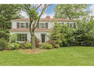Shaker Heights Single Family Home For Sale: 2737 Rochester Rd