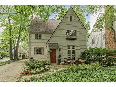 Shaker Heights Single Family Home For Sale: 3320 Kenmore Rd