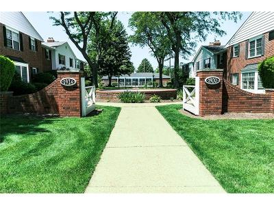 Rocky River Condo/Townhouse For Sale: 2900 Pease Dr #116