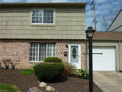 Mentor Condo/Townhouse For Sale: 9635 Ryan Dr