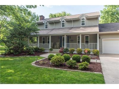 Warren Single Family Home For Sale: 8817 Howland Springs Road