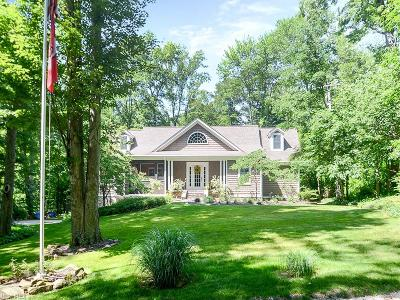 Chagrin Falls Single Family Home For Sale: 8264 Summit Dr
