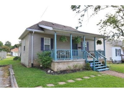 Zanesville Single Family Home For Sale: 418 Kinzel Ave
