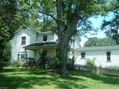 Hubbard Single Family Home For Sale: 5651 West Liberty St