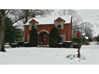 Youngstown Single Family Home For Sale: 6147 Glenwood Ave