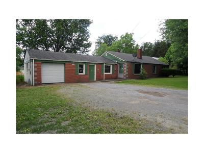 Poland Single Family Home For Sale: 1275 East Western Reserve Rd