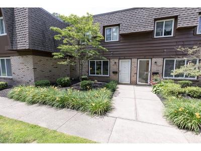 Mentor Condo/Townhouse For Sale: 6400 Center St #26