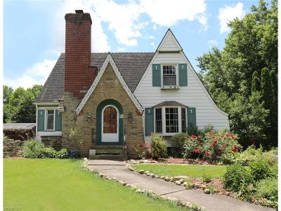 Single Family Home For Sale: 455 West Ohio Ave