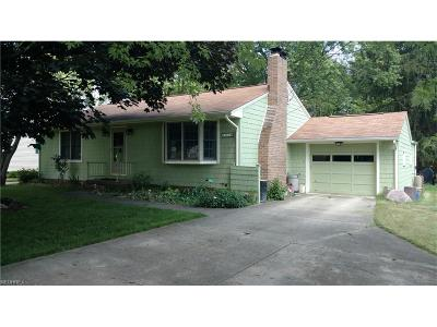 Alliance OH Single Family Home For Sale: $117,900