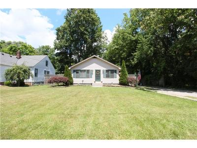 Single Family Home For Sale: 26312 Cook Rd