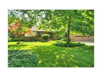 Bay Village Single Family Home For Sale: 619 Cahoon Rd