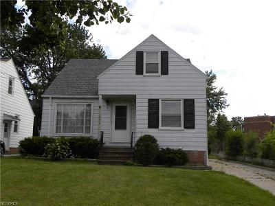 Wickliffe Single Family Home For Sale: 29312 Park St