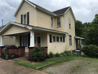 Guernsey County Single Family Home For Sale: 1106 Foster Ave