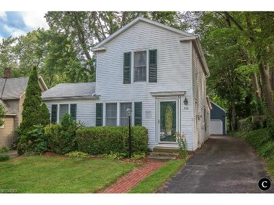 Chardon Single Family Home For Sale: 206 Water St