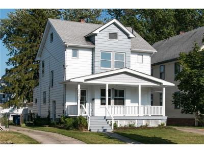 Lakewood Single Family Home For Sale: 1261 Warren Rd