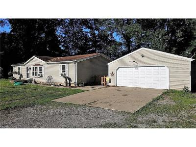 West Farmington Single Family Home For Sale: 4845 Painesville Warren Rd