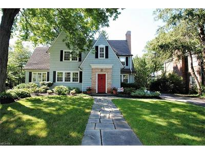 Shaker Heights Single Family Home For Sale: 2862 Manchester Rd